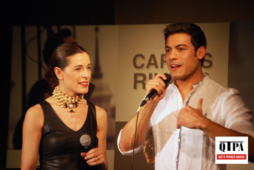 Raquel Sanchez Silva y Carlos Rivera