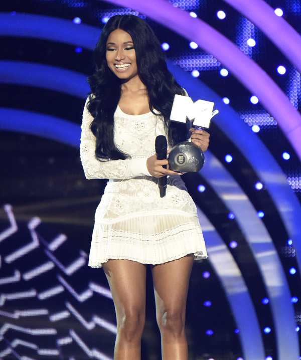 Nicki Minaj | MTV EMA's 2014