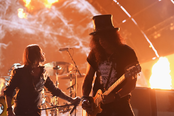 Slash | MTV EMA's 2014