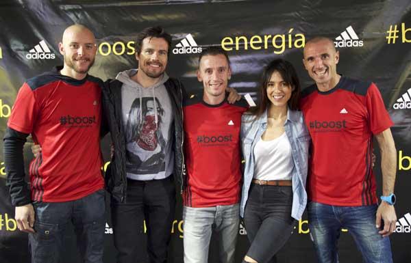 Jaume Leiva, Octavi Pujades, Carles Castillejo, Cristina Brondo y Chema Martinez