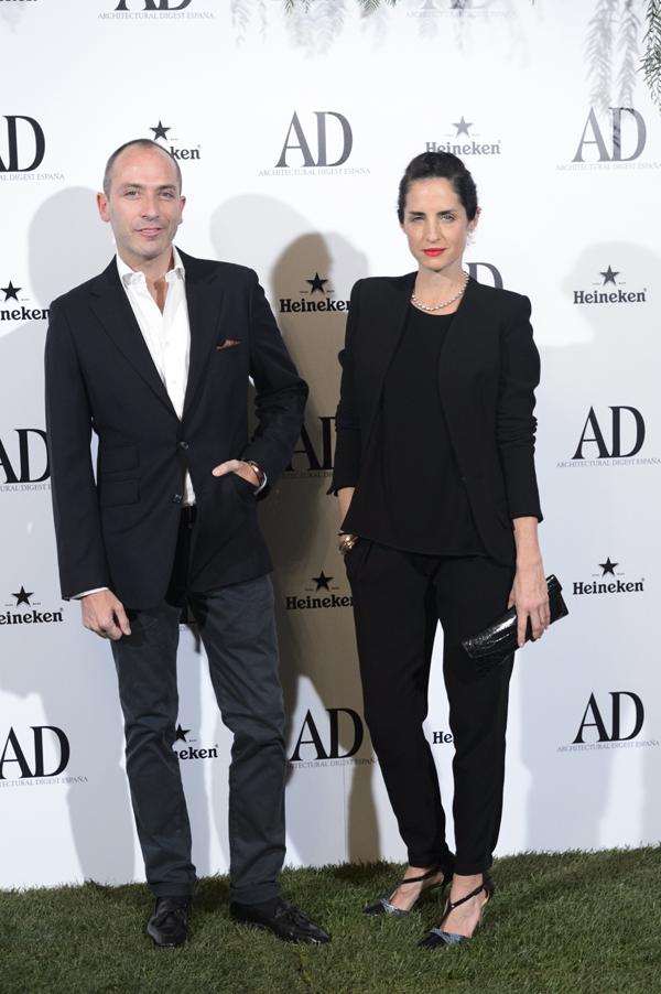 Carolina Herrera y Andrés